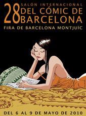 Cartell del 28è Saló del Còmic de Barcelona.
